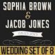 Retro Wedding Set of 8 - GraphicRiver Item for Sale
