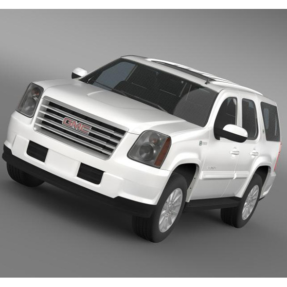 GMC Yukon Hybrid 2013  - 3DOcean Item for Sale