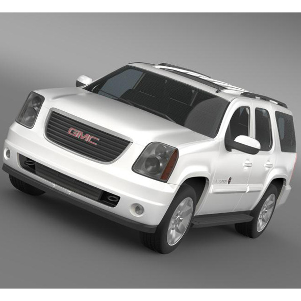 GMC Yukon Heritage Edition 2012  - 3DOcean Item for Sale