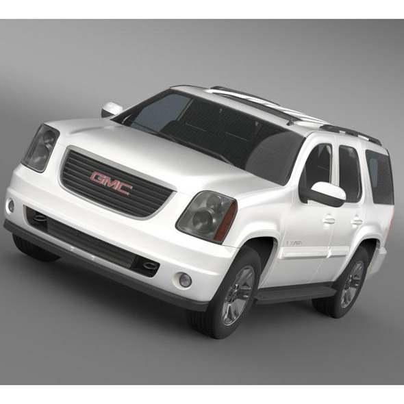 GMC Yukon SLT  - 3DOcean Item for Sale