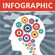 Infographic Concept with Human Head - GraphicRiver Item for Sale