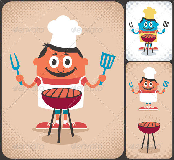 Barbecue - People Characters