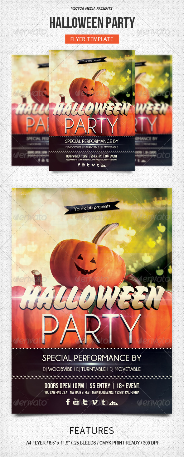 Halloween Party - Flyer