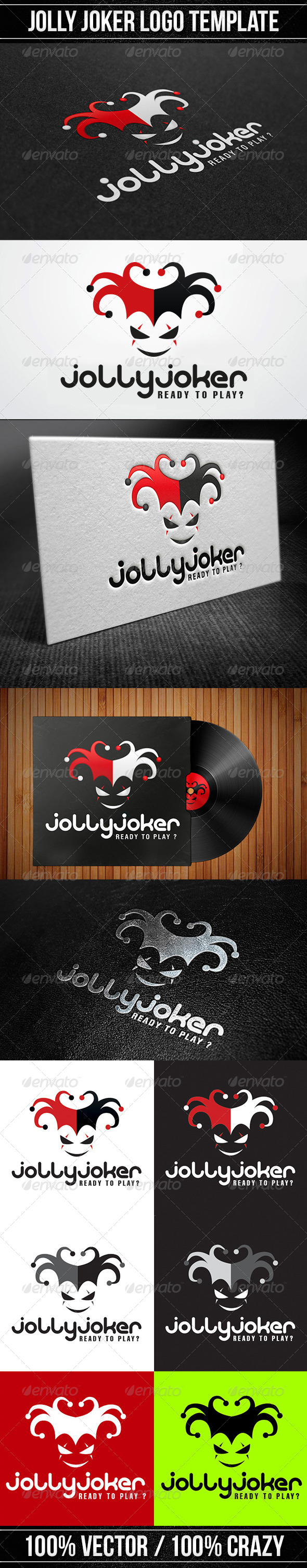 Jolly Joker Logo - Logo Templates