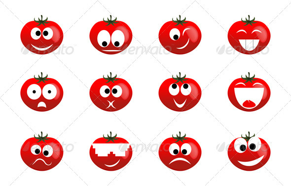 Tomato smile - Miscellaneous Characters