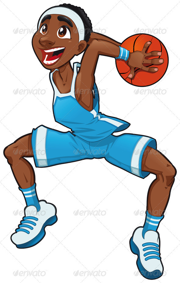 Basketball boy.  - Sports/Activity Conceptual