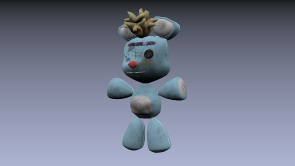 Teddy Bean Old - 3DOcean Item for Sale