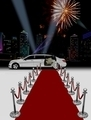 Limo and Red Carpet with City Background - PhotoDune Item for Sale
