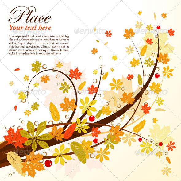 Autumn Background - Seasons Nature