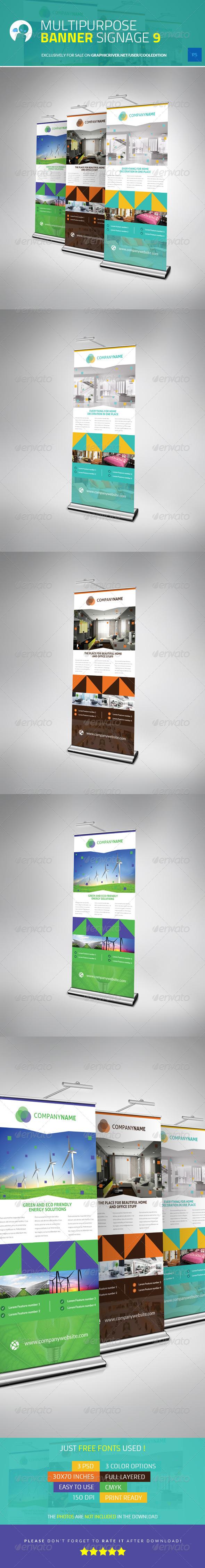 Multipurpose Banner Signage 9 - Print Templates