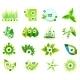 Set of Eco Leaf Infographic Design Templates - GraphicRiver Item for Sale