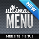 Ultimate Web Menu Navigation Pack - GraphicRiver Item for Sale