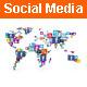 Social Media World Concept - GraphicRiver Item for Sale