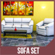 Sofa Set with Render Setup - 3DOcean Item for Sale