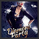 Diamond Party Flyer - GraphicRiver Item for Sale