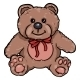 Cartoon Character of Teddy Bear - GraphicRiver Item for Sale