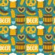Oktoberfest Seamless Pattern - GraphicRiver Item for Sale