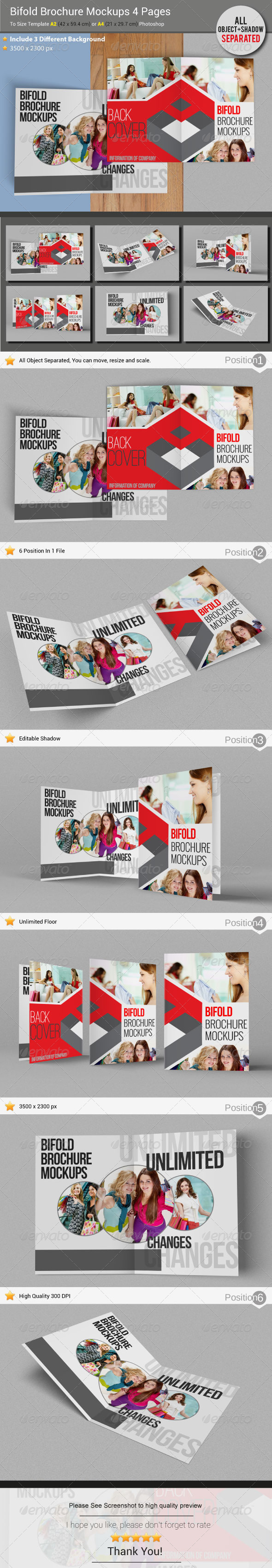 Brochure Mockups - Brochures Print