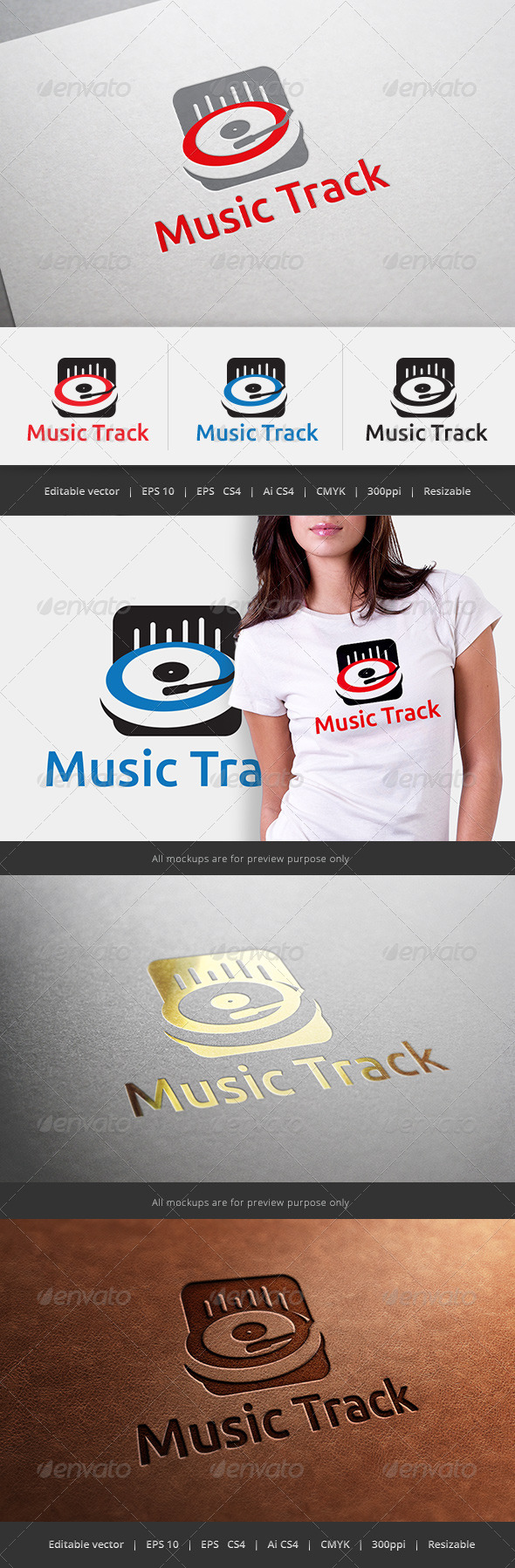 Music Track Logo