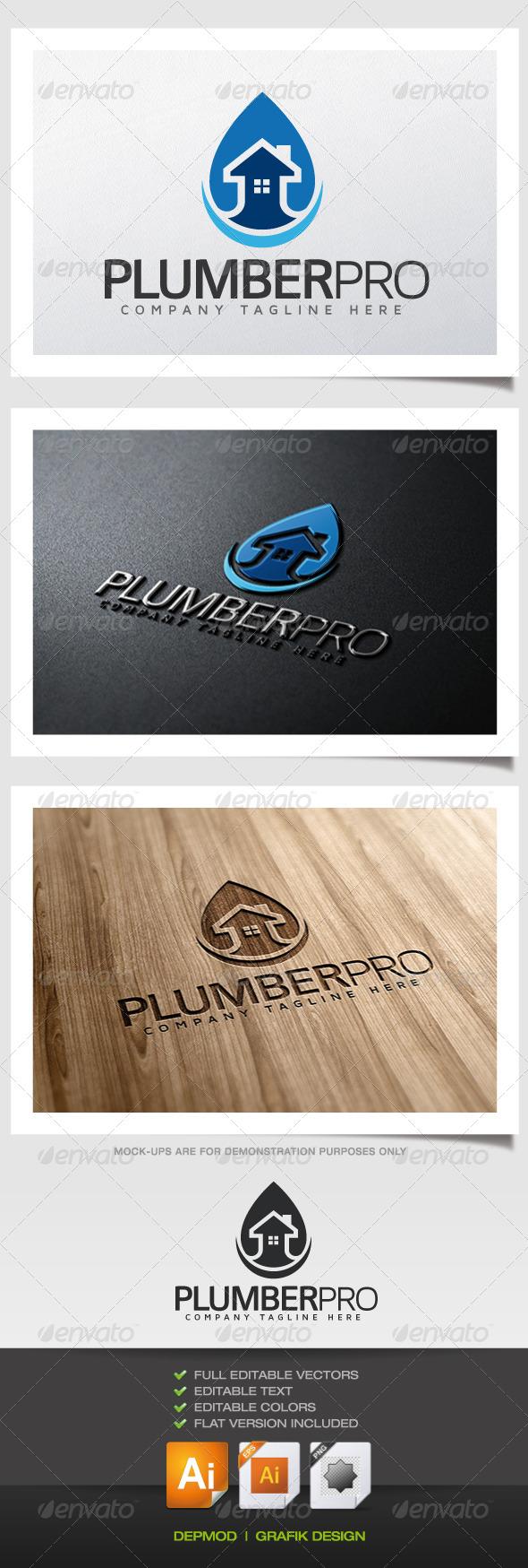 Plumber Pro Logo
