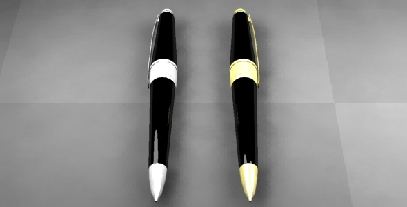 Pen - 3DOcean Item for Sale