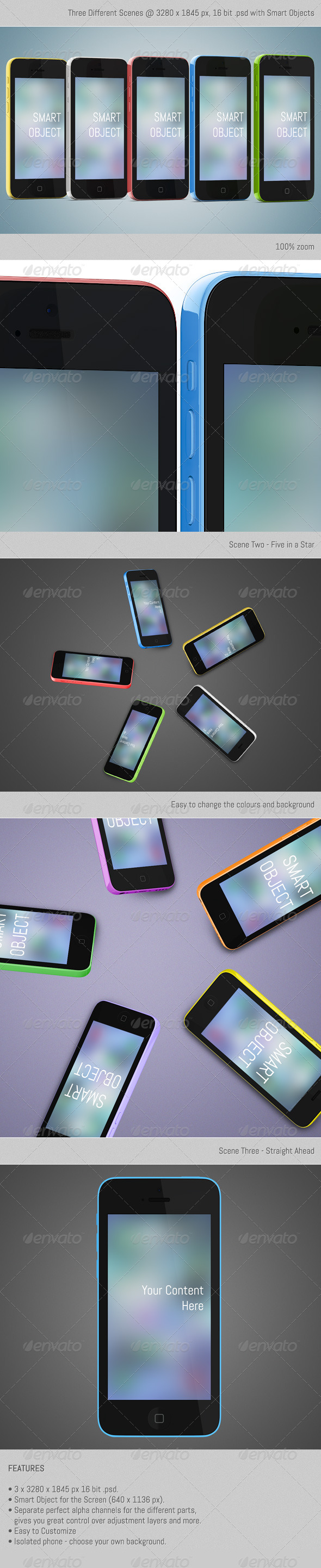 SmartPhone 5C - Mobile Displays