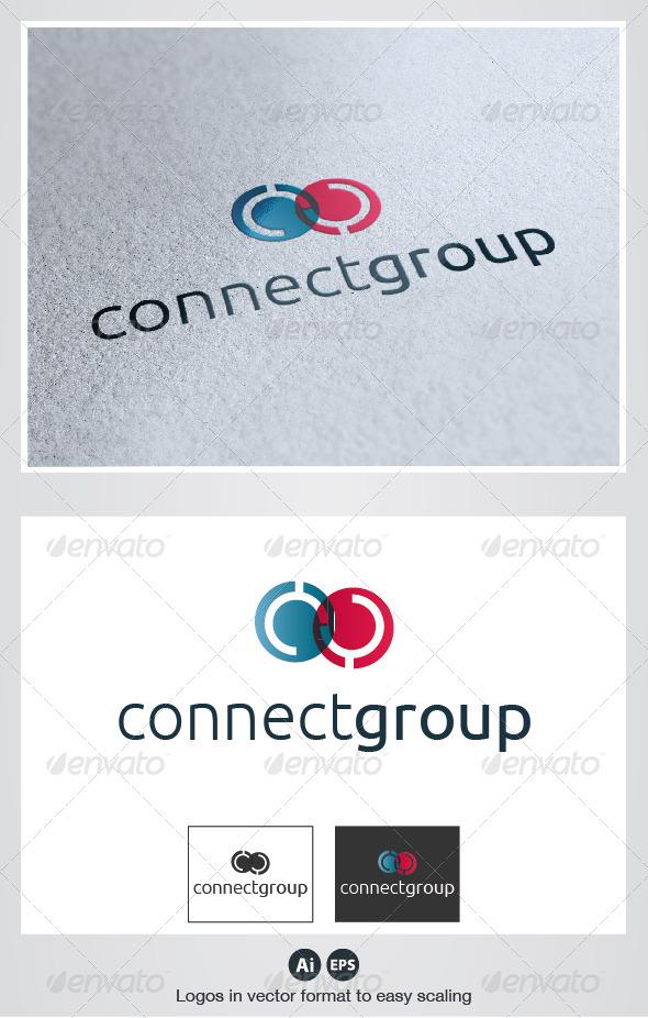 Connect Group Logo - Humans Logo Templates