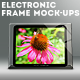 Electronic Frames Mock-Ups - GraphicRiver Item for Sale