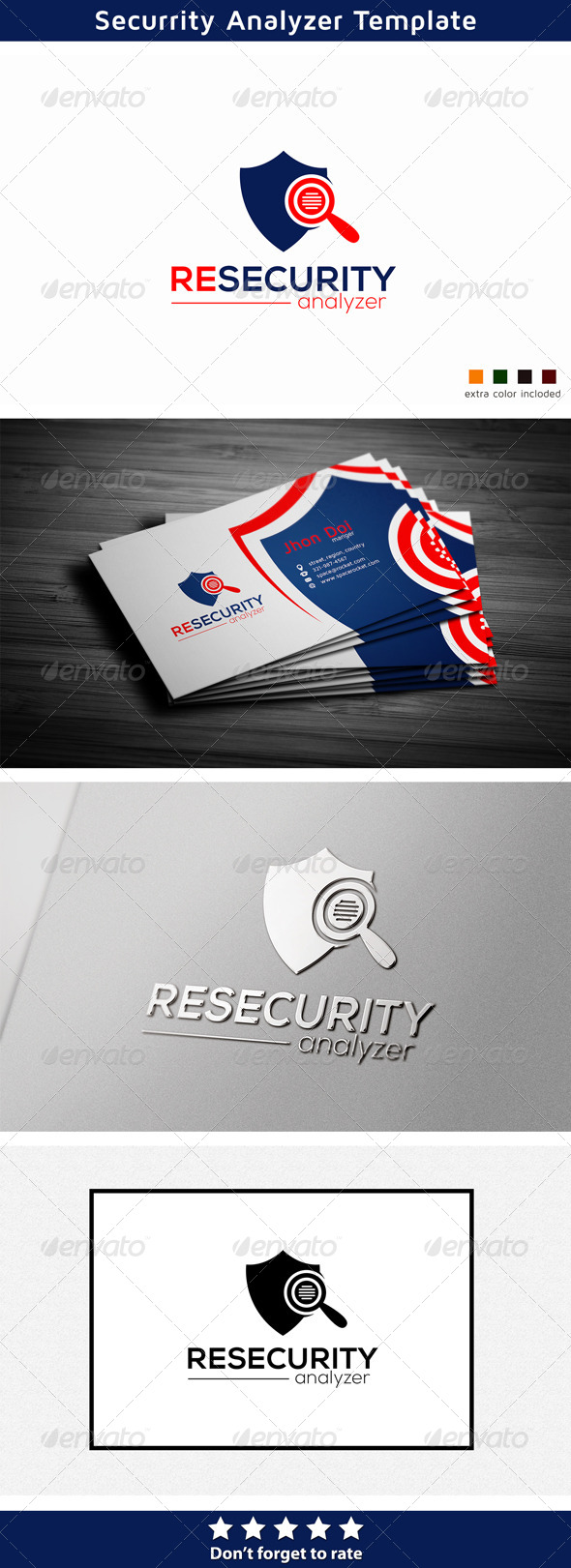 Security Logo - Symbols Logo Templates