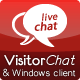 PHP Chat with Web- & Windows Clients - VisitorChat