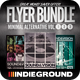 Minimal Alternative Flyer/Poster Bundle Vol. 1-3 - GraphicRiver Item for Sale