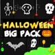 Halloween Party Elements | Motion Graphics Pack - VideoHive Item for Sale
