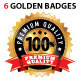 Golden Badge - GraphicRiver Item for Sale