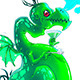Bitmap Absinthe Dragon  - GraphicRiver Item for Sale