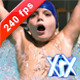 Child Into Pool - VideoHive Item for Sale