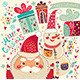 Santa Claus and Snowman - GraphicRiver Item for Sale