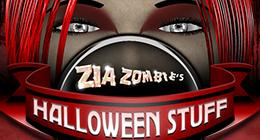 Zia Zombie's Halloween Stuff