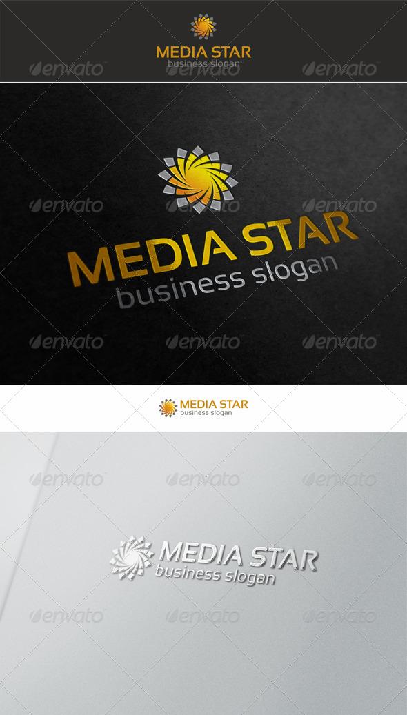 Star Swirl Logo - Symbols Logo Templates