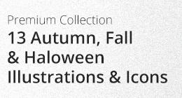 Halloween & Autumn Fall Seasonal