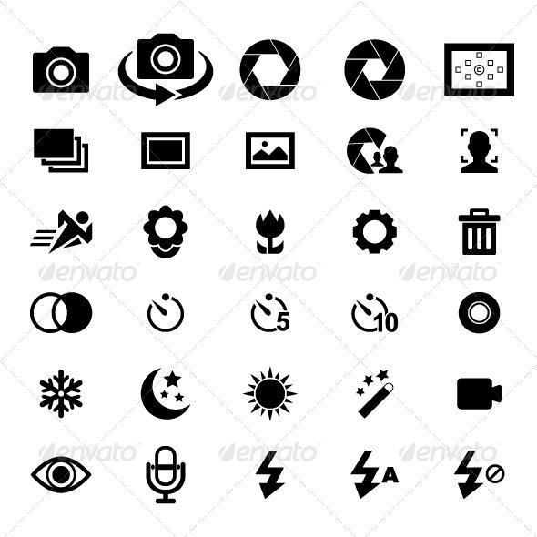 Camera Icon By Tzubasa Graphicriver