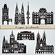 Prague Landmarks and Monuments - GraphicRiver Item for Sale