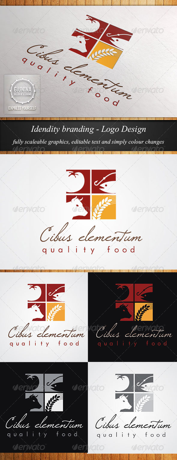 Food Catering Logo Template  - Logo Templates