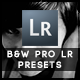 24 B&W  Pro Presets - GraphicRiver Item for Sale