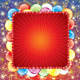 Festive Background with Balloons and Firework - GraphicRiver Item for Sale