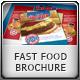 Fast Food Brochure & Menu - GraphicRiver Item for Sale