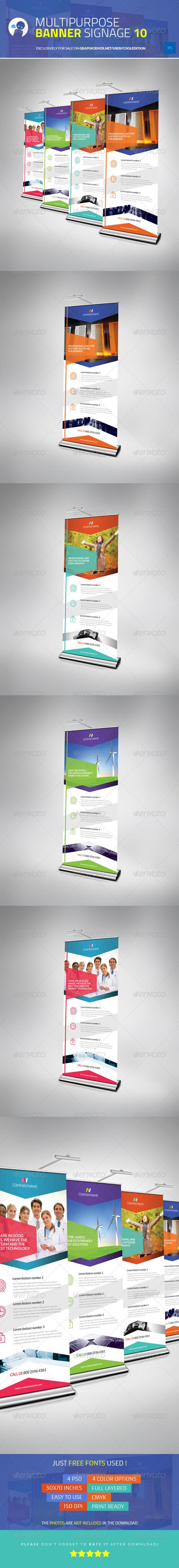 Multipurpose Banner Signage 10 - Signage Print Templates