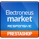 Electronics Store PrestaShop Theme - Computers, Laptops, Cameras, Cell phones | Presta Electronues Nulled