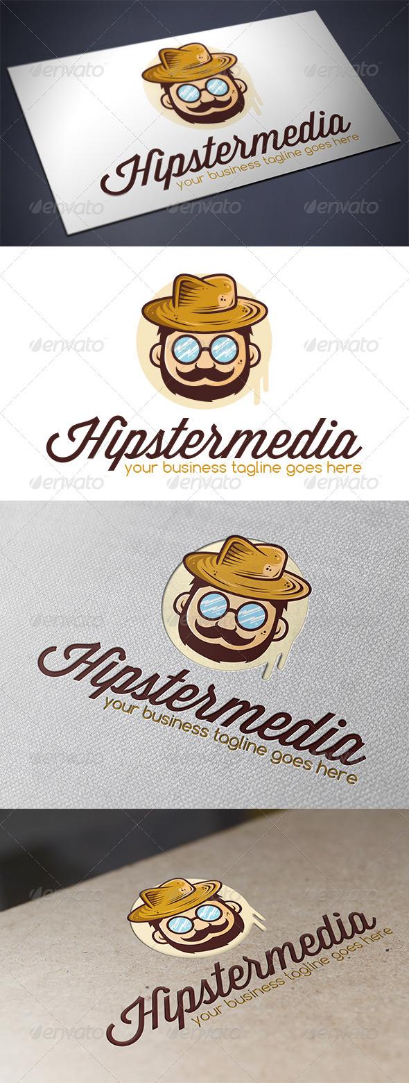 Hipster logo template by bosstwinsmusic graphicriver hipster logo template humans logo templates maxwellsz