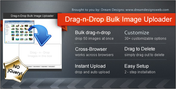 Drag-n-Drop Bulk Image Uploader nulled free download