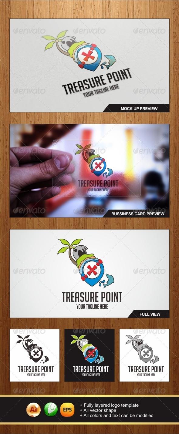 Treasure Point Logo - Symbols Logo Templates